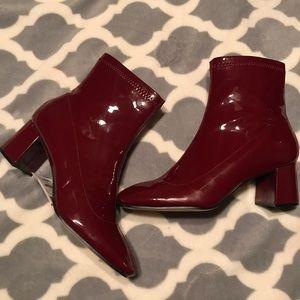 Zara Patent Leather Bootie